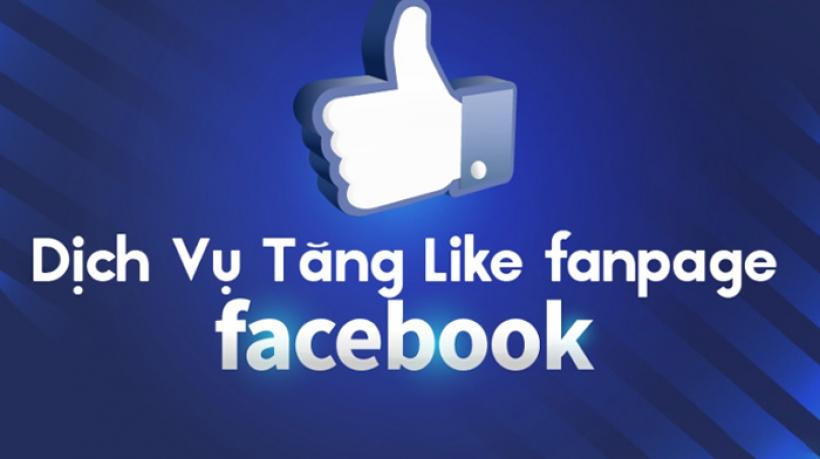 Dịch vụ tăng like fanpage facebook giá rẻ