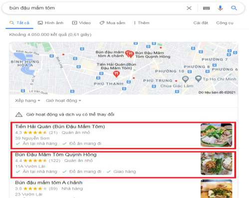 Lợi Ích Dịch vụ Xác Minh Google Maps