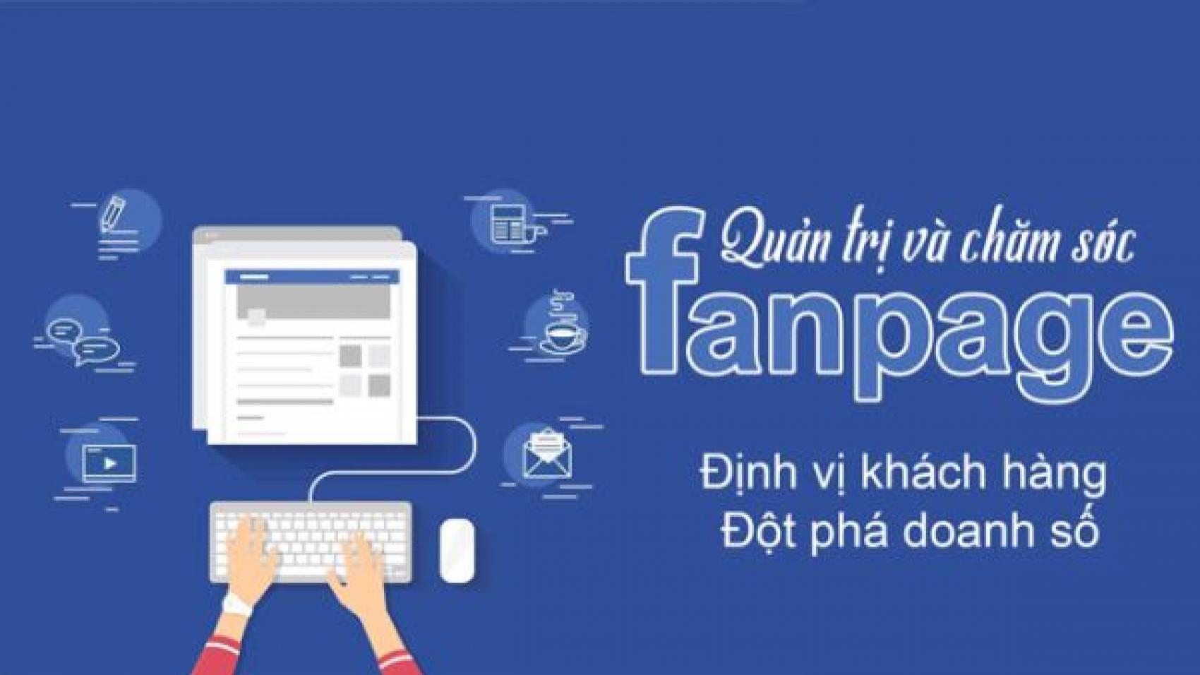 Bảng giá Dịch vụ chăm sóc Fanpage Facebook